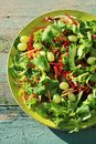 Fresh Vegetable Salad Close Up Royalty Free Stock Photo - 31685495