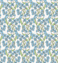 Forget-me-not Pattern 6 Stock Images - 31697454