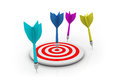 Target With Arrow Royalty Free Stock Photography - 31699857