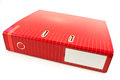Red Office Folder Royalty Free Stock Photography - 31703487