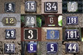 House Numbers Royalty Free Stock Photography - 31705587