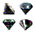 Set Of Jewelry Gems. Vector Royalty Free Stock Photo - 31710365
