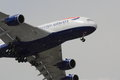 British Airways Airbus A380 On Approach Royalty Free Stock Photo - 31731545