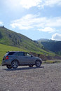 Suv In The Mountains Stock Photo - 31756430