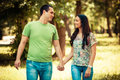 Couple In Park Stock Image - 31759811