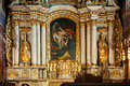 High Altar In The Church Of Saint Nicholas In Kali Royalty Free Stock Photo - 31761495
