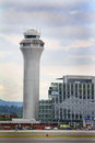 PDX Traffic Control Tower Royalty Free Stock Photo - 31766085