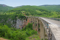 Bridge Over Tara River In Montenegro Stock Photography - 31768642