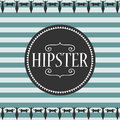 Stripey Card Hipster Style Royalty Free Stock Photos - 31771058