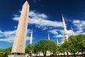 The Obelisk Of Theodosius At The Hippodrome In Istanbul, Turkey Royalty Free Stock Photo - 31783975