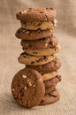 Stacked Mixed Cookies Royalty Free Stock Images - 31788349
