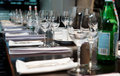 Table Set For Official Dinner Stock Photography - 31793762