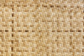 Bamboo Weave Pattern Royalty Free Stock Photography - 31794167