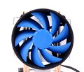 Blue Computer Fan For PC Case. Royalty Free Stock Photo - 31801535