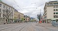 Swedish Town Road Stock Photography - 31803132