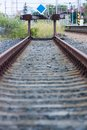 End Of The Line Royalty Free Stock Photos - 31803668