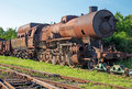 Old Steam Locomotive In The Rust Stock Image - 31810371