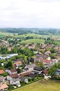 German Village On Viewing From Tower At Andechs Monastery Royalty Free Stock Photos - 31811248