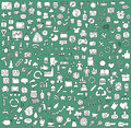 Big Doodled Web And Mobile Icons Collection Stock Photo - 31811310