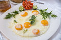 Fried Eggs For Breakfast Royalty Free Stock Photos - 31817068
