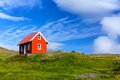 House In Iceland. Stock Photography - 31839512