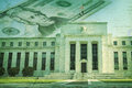 Federal Reserve Building With Twenty Dollar Bill On Grunge Textu Stock Photography - 31864372