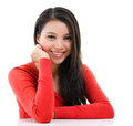Young Asian Woman Portrait Royalty Free Stock Photos - 31871858
