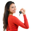 First Own Car Key Royalty Free Stock Images - 31871909