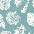 Vector Pattern With Sea Shells Stock Images - 31883764