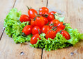 Tiny Plum Tomatoes Royalty Free Stock Photos - 31891618