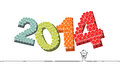 New Year 2014 Royalty Free Stock Image - 31896226