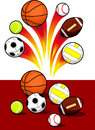 Sport Balls Stock Photography - 31920902