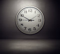 Big Clock On The Wall Royalty Free Stock Images - 31924849