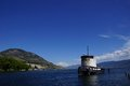 Old Tug Boat Moored On Lake Okanagan Royalty Free Stock Image - 31940116