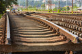 Replacement Of Railroad Track Royalty Free Stock Photo - 31943825
