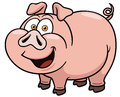 Cartoon Pig Stock Photography - 31973092