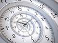 Infinity Time Spiral Royalty Free Stock Photography - 31974807