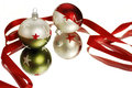 Christmas Baubles Stock Image - 31983341