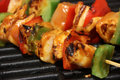 Chicken Kebab On Grill Royalty Free Stock Photos - 31994938