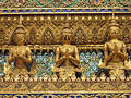 Golden Statues Royalty Free Stock Image - 329206
