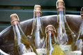 Champagne Cooling In An Ice Bucket Stock Photo - 32000310