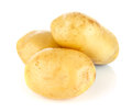 Fresh Potatoes Royalty Free Stock Images - 32004709
