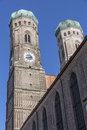 Towers Of The Church Of Our Lady, Munich Royalty Free Stock Photography - 32007447