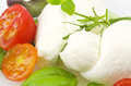 Salad Mozzarella And Tomatoes Stock Photography - 32015312