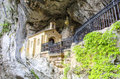 Holy Cave Of Covadonga Royalty Free Stock Image - 32016526