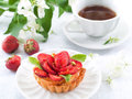 Strawberry Tart Royalty Free Stock Images - 32024119