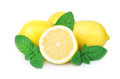 Lemon And Mint Royalty Free Stock Image - 32036906
