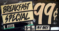 Grungy Breakfast Cafe Royalty Free Stock Photography - 32042977