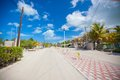 Sandy Street In An Exotic Country On The Mexican Stock Photos - 32043373