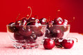 Bowls Of Cherries Stock Image - 32047571